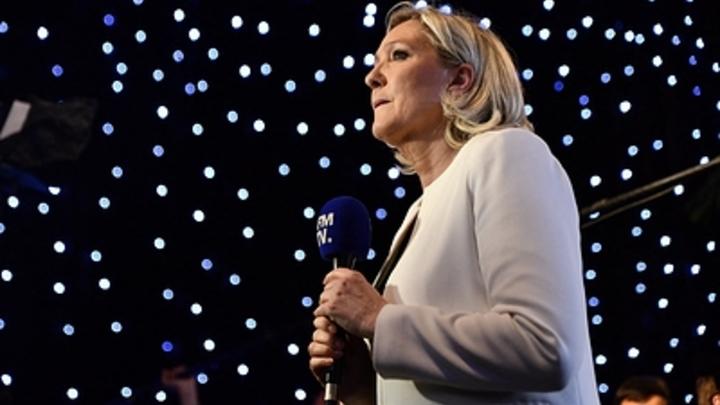 На выборах в Европарламент Ле Пен обошла Макрона