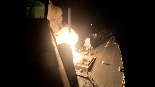 Атака США на Сирию: международная реакция