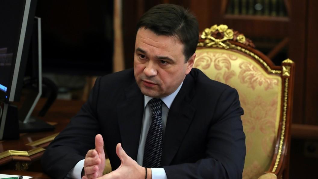 Губернатор Воробьев выехал к свалке в Балашихе