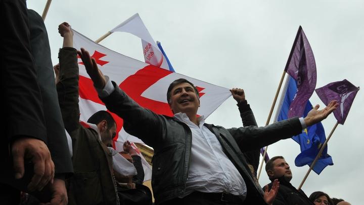 Саакашвили понравилось, что его закидали сырыми яйцами и зеленкой
