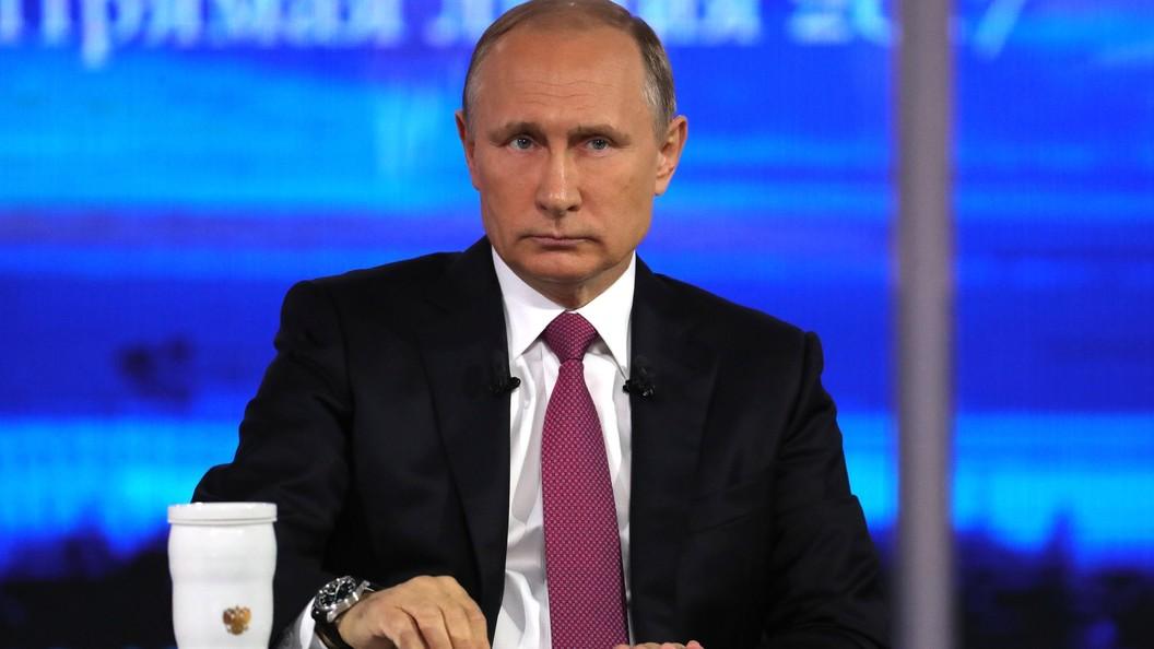 88 процентов жителей России остались довольны ответами Путина