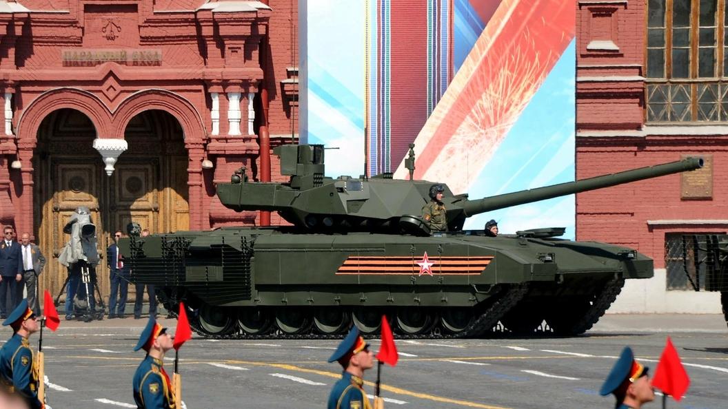 Стала известна дата начала опытной эксплуатации танка Т-14 Армата