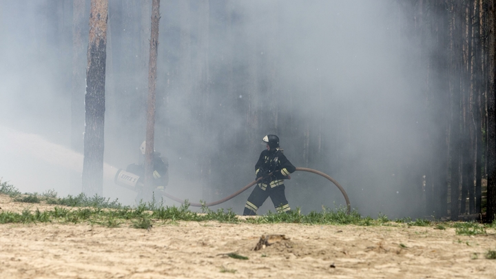 В Португалии разбился пожарный самолет