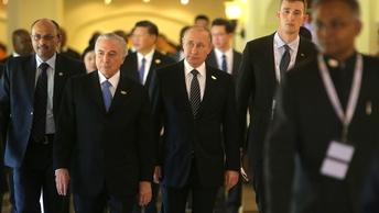 Путин и Темер обсудят развитие экономических отношений