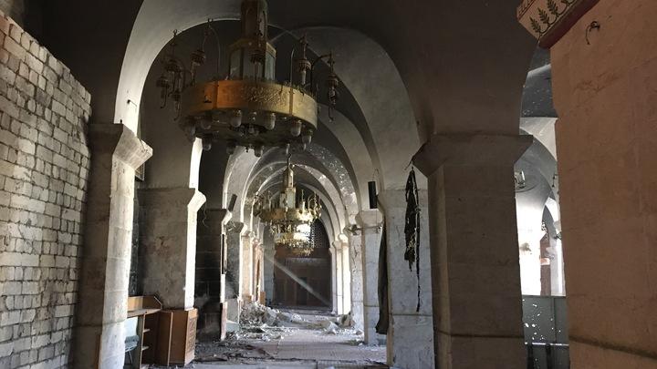 В Алеппо устроили карнавал в честь возвращения к мирной жизни