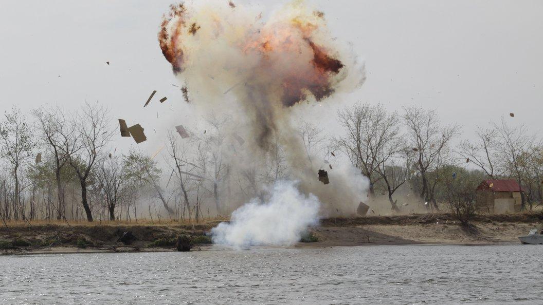 При взрыве в Киеве никто не пострадал