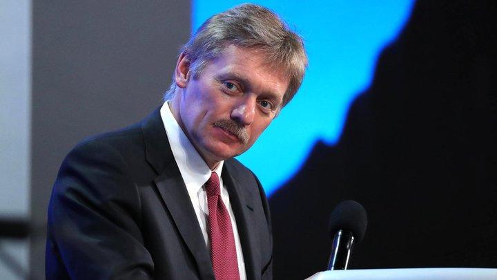 Песков: Ответ России на санкции США будет основан на принципе взаимности