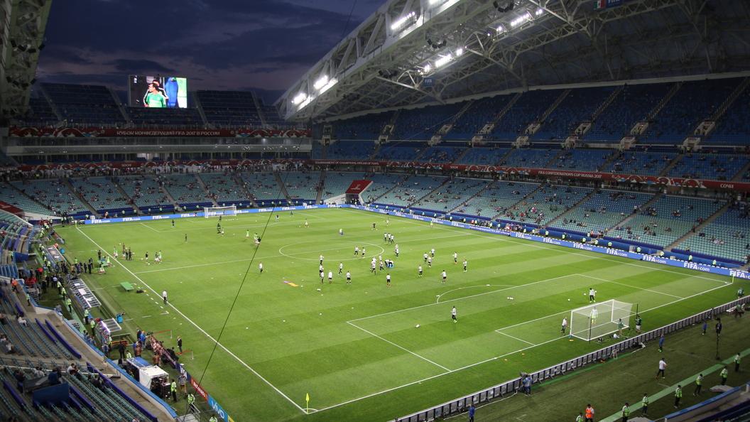 Германия зажала тренировку в Казани, а Чили чуть не утонула на стадионе