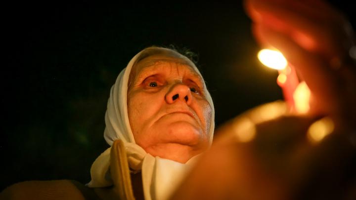 В Москве зажгли 1418 свечей перед Днем памяти и скорби