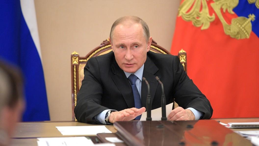 Путин объявил, что непротив наделения МЧС новыми полномочиями