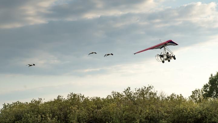 В России создали летающий электромобиль на мягком крыле