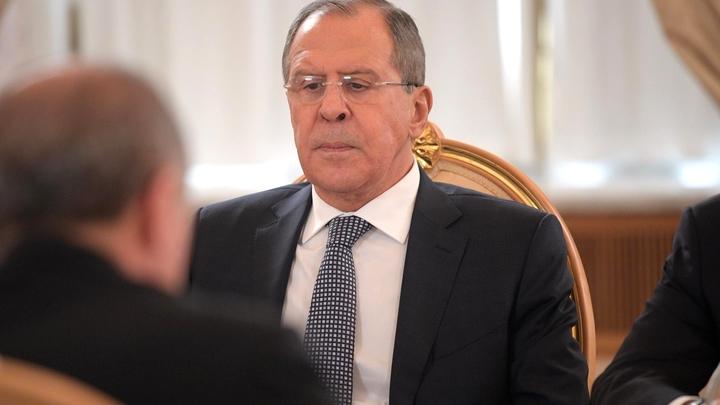 Лавров напомнил Тиллерсону о предложениях по улучшению отношений