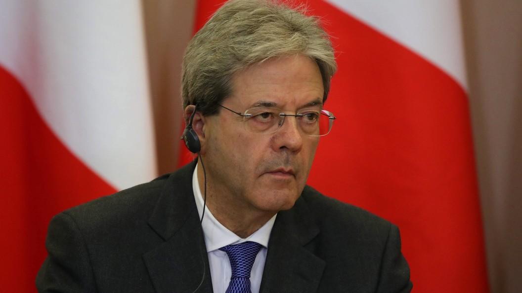 Премьер Италии раскритиковал автоматическое продление антироссийских санкций