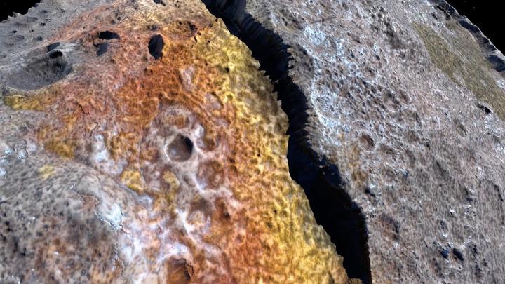 NASA: На Марсе была минеральная вода