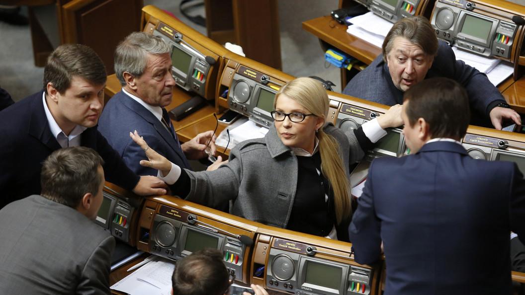 Тимошенко пошутила о сходстве вируса Petya и Порошенко