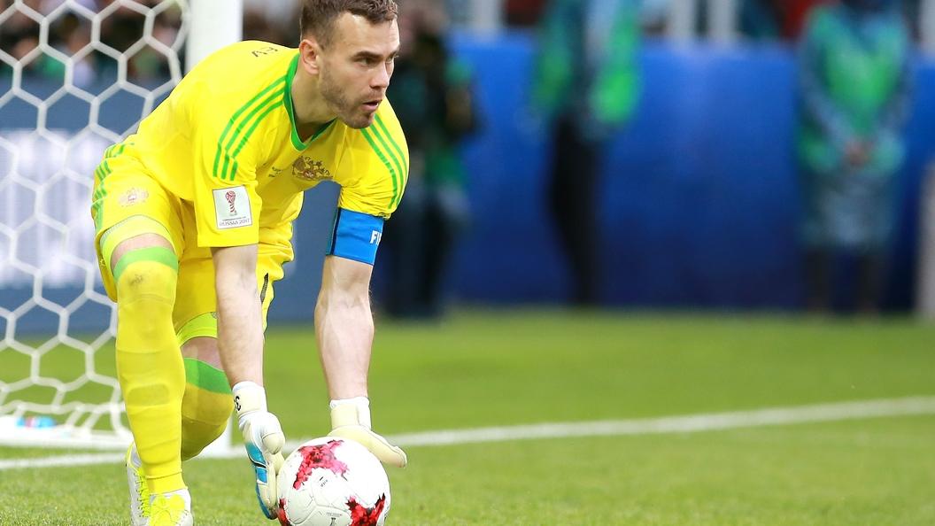 В России выбрали лучшего игрока национальной сборной на Кубке конфедераций