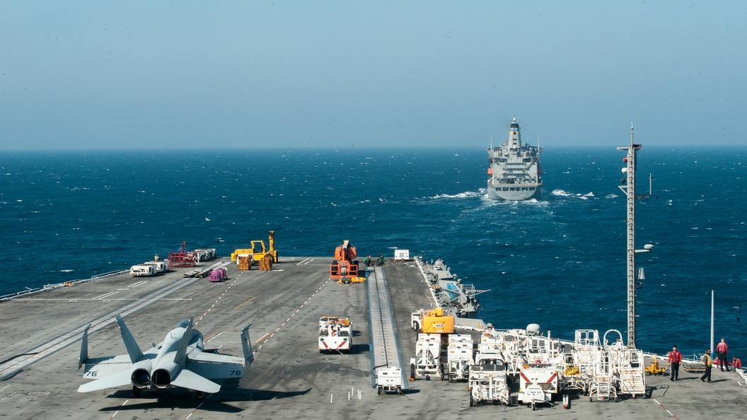 Корабли ТОФ отразили ракетные удары научениях