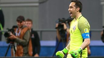 Чилийский вратарь стал лучшим голкипером Кубка конфедераций-2017