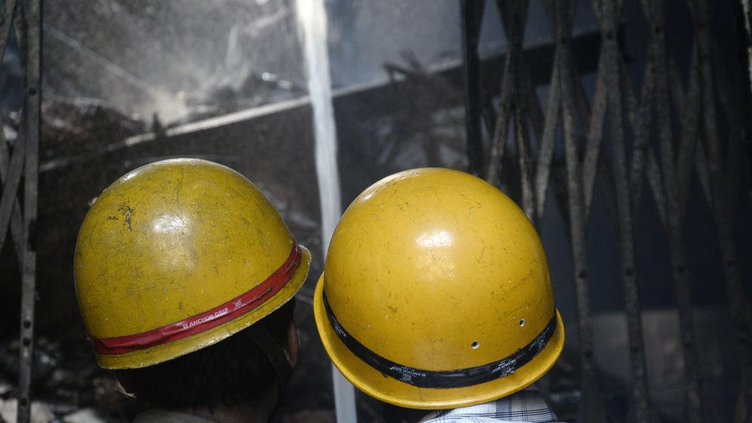 Ликвидировали пожар на строящейся плавучей АЭС
