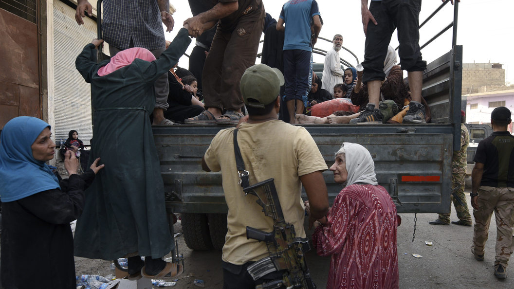 Мосул: супруги боевиков стреляют виракских солдат, прикрываясь своими детьми