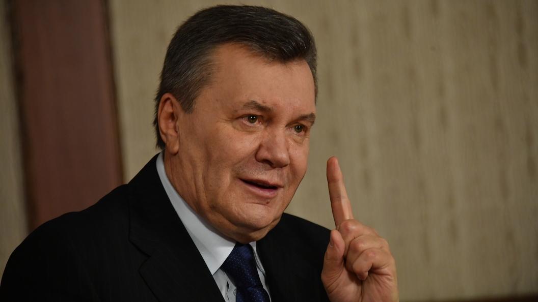 Янукович заявил о своем желании вернуть Крым в состав Украины