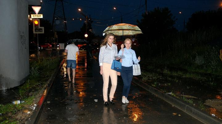 Москву ждет облачная и дождливая пятница - синоптики