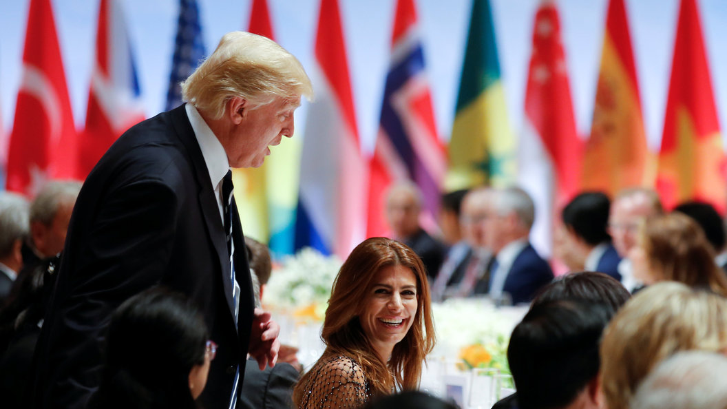 Трамп эмоционально оценил первый день саммита G20