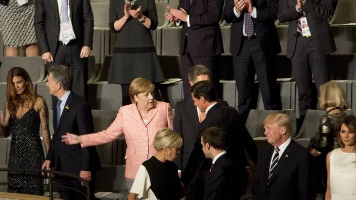 Песков раскрыл подробности встречи Путина, Меркель и Макрона на саммите G20