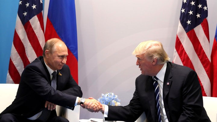 Путин объяснил разницу между телевизионным Трампом и реальным