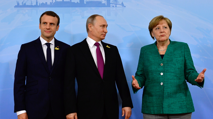 Нормандский формат продолжится телефонными переговорами - Меркель