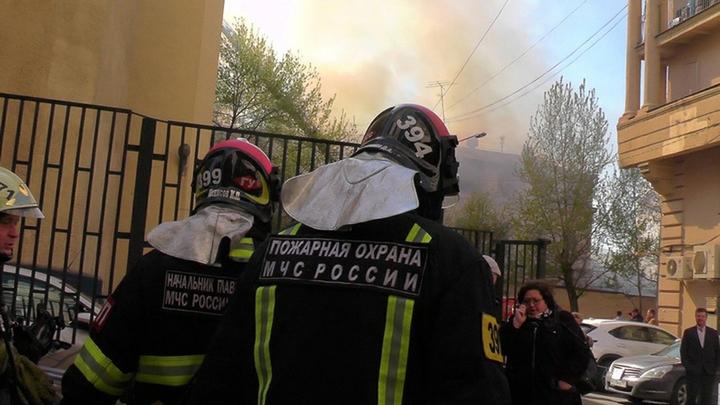 Во время пожара в ТЦ РИО пострадали пять человек