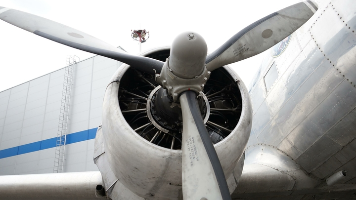 Во Внуково экстренно сел самолет с отказавшим двигателем