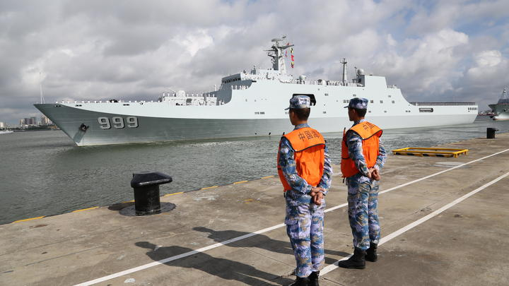 Китайские военные отправились служить в Африку