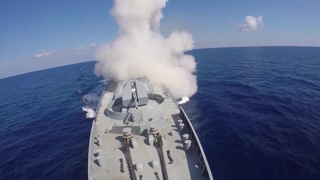 ВМФ РФ проведет ракетные пуски уберегов Сирии вближайшие две недели