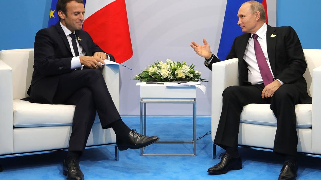 Путин поздравил Макрона с 219-й годовщиной взятия Бастилии