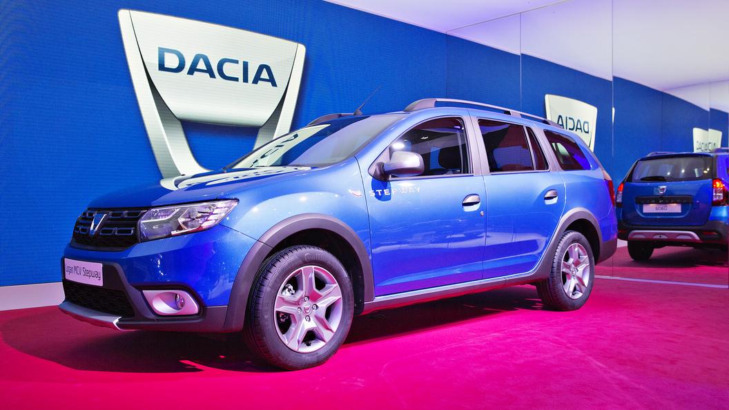 Универсал Dacia Logan снабдили пластиковым обвесом