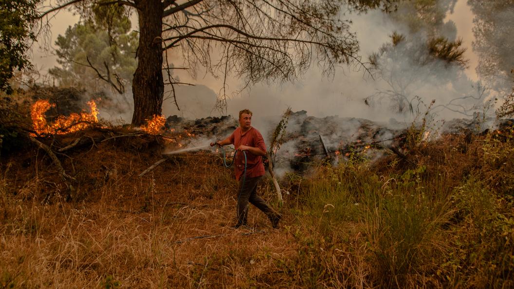 Пожар в Черногории: Более 300 человек эвакуировали