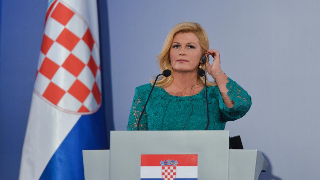 Президент Хорватии приедет в Россию осенью