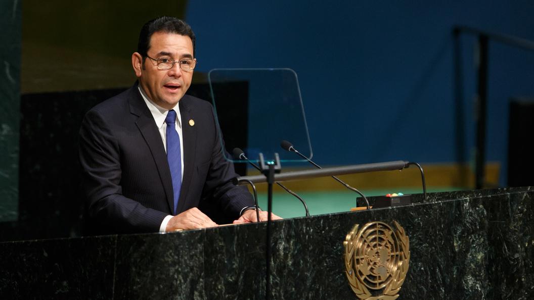 Президент Гватемалы объявил чрезвычайное положение из-за плохих дорог