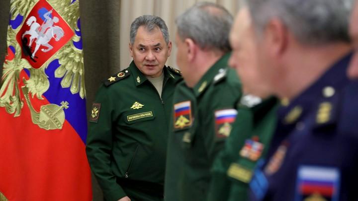 Шойгу объявил оперативный сбор руководителей ВС России