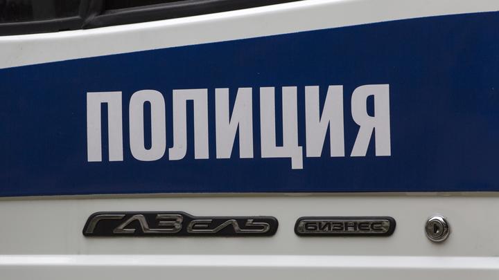 Активисты Левого блока повесили заглушку на Роскомнадзор