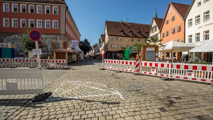В немецкой школе нашли огромную бомбу времен ВОВ, есть угроза взрыва