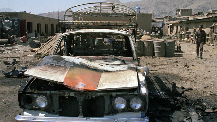 При взрыве у дома второго вице-премьера Афганистана погибли десятки человек