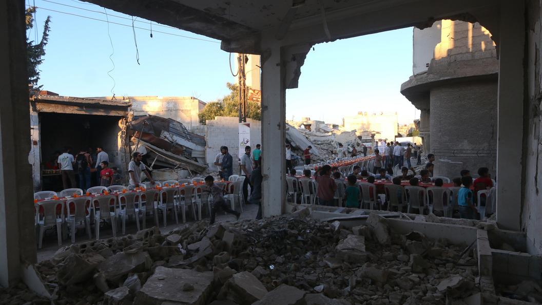 Объявление  пообстрелу посольстваРФ вДамаске заблокировали вСБ ООН