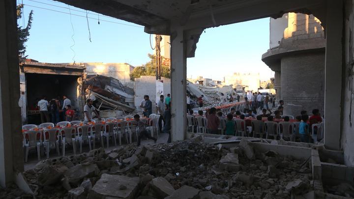 Посольство России в Дамаске попало под ракетный обстрел боевиков