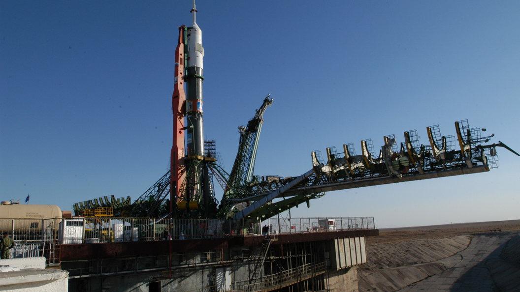 Космический корабль Союз МС-05 вышел на Гагаринский старт