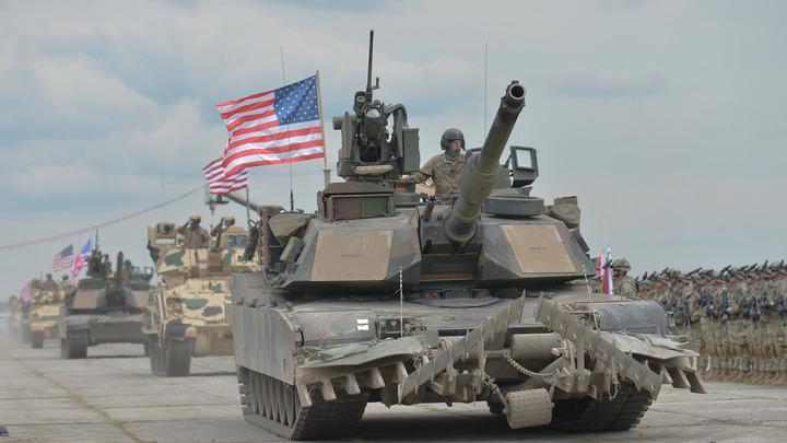 США перебросили в Грузию танки M1A2 Abrams и БМП M2 Bradley