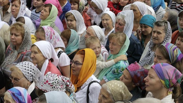 В Киеве крестный ход ко дню Крещения Руси собрал около 100 тысяч верующих