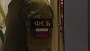 ФСБ опубликовала видео задержания готовивших теракт в Санкт-Петербурге
