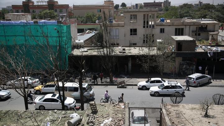 Ответственность за подрыв у посольства в Кабуле взяла ИГИЛ